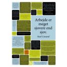 Kloge ord om arbejdsglæde - citatplakat